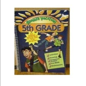 Summer Vacation 5th Grade Activity Book
